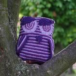 slip stitch crochet owl