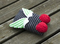 Harald slip stitch crochet fly softie